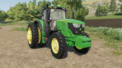 John Deere 6M-series four engines for Farming Simulator 2017