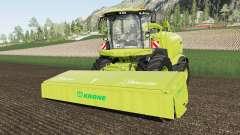 Krone BiG X 1180 increased capacity for Farming Simulator 2017