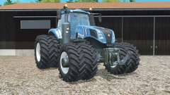 New Holland T8.320 double wheels for Farming Simulator 2015