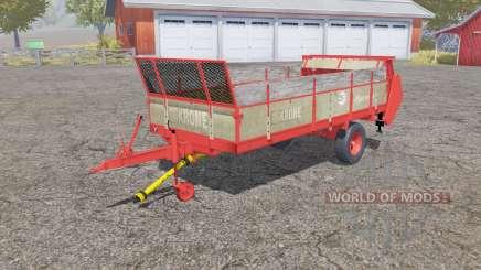 Krone Optimat 5.5 for Farming Simulator 2013