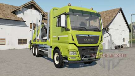 MAN TGX 26.640 with autoload wood for Farming Simulator 2017