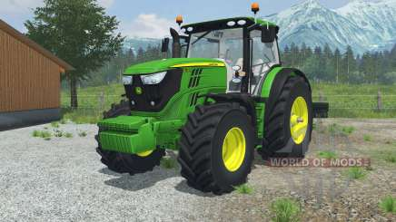 John Deere 6170R & 6210R for Farming Simulator 2013