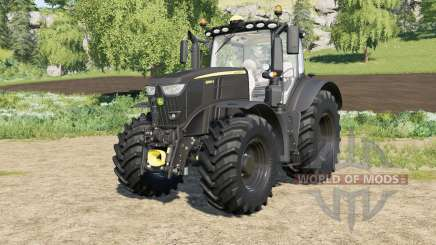 John Deere 6R-series Black Edition FL for Farming Simulator 2017