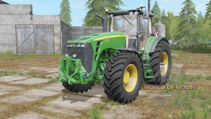 John Deere 8030 adjusting the steering for Farming Simulator 2017