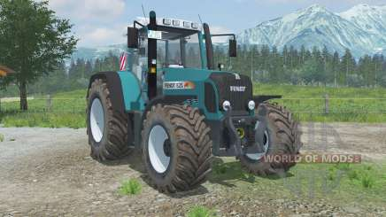 Fendt 820 Vario TMS moveable rear hitch for Farming Simulator 2013