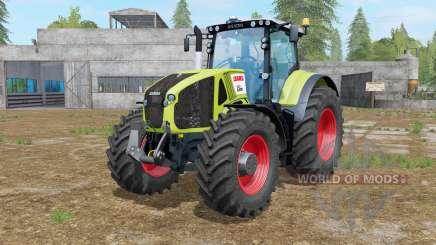 Claas Axion 920 key lime pie for Farming Simulator 2017