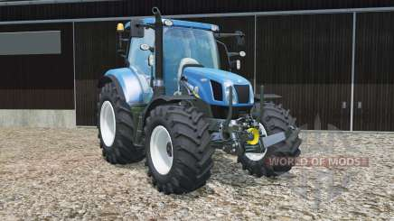 New Holland T6.160 chip tuning for Farming Simulator 2015