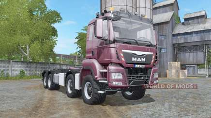 MAN TGS hooklift multicolor for Farming Simulator 2017
