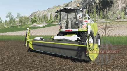 Claas Jaguar 900 animated object for Farming Simulator 2017