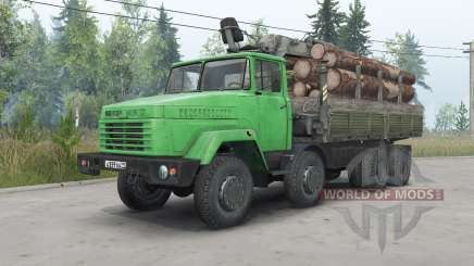 KrAZ-7133Н4 for Spin Tires