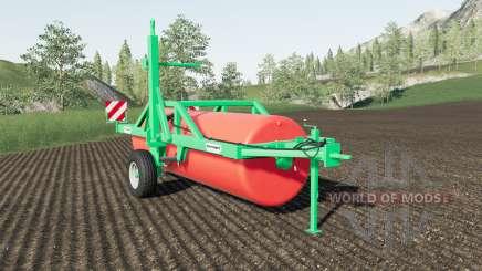 Duvelsdorf Green Roller Vario expanded for Farming Simulator 2017