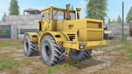 Kirovets K-700A with a choice digaea for Farming Simulator 2017
