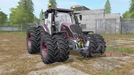 Valtra N-series twin wheels for Farming Simulator 2017
