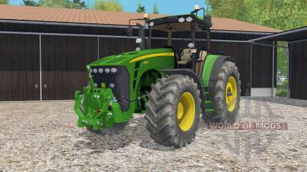 John Deere 8530 animated steering for Farming Simulator 2015
