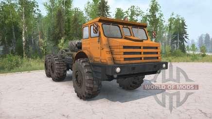 MoAZ-74111 v2.0 for MudRunner
