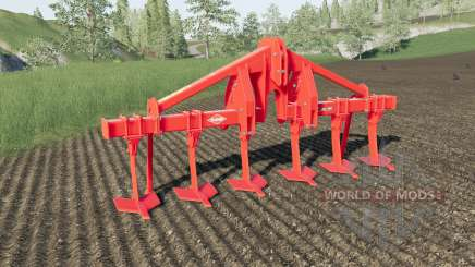 Kuhn DC 401 with plow function for Farming Simulator 2017