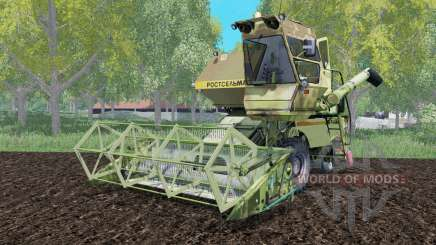 SK-5 Niva with hanging header for Farming Simulator 2015
