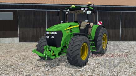John Deere 7930 hand animation for Farming Simulator 2015