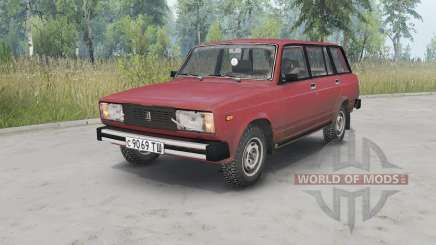 VAZ-2104 Lada for Spin Tires