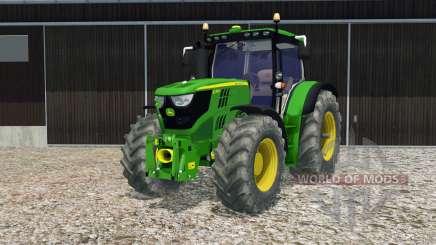 John Deere 6170R opening door and rear window for Farming Simulator 2015