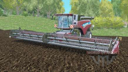 New Holland CR10.90 with the three cutting for Farming Simulator 2015