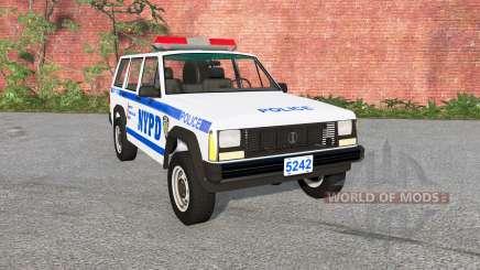 Jeep Cherokee (XJ) Police for BeamNG Drive