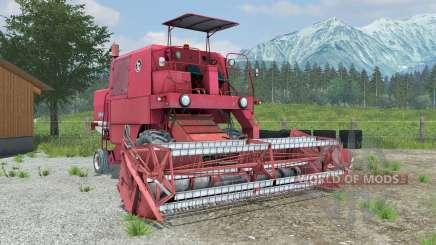 Bizon Z040 manual ignition for Farming Simulator 2013