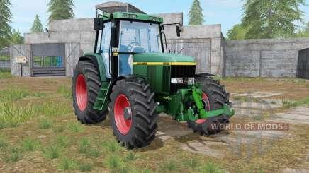 John Deere 6810 darker dynamic smoke for Farming Simulator 2017