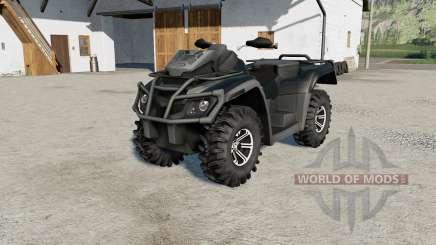 Can-Am Outlander 1000 XT power selection for Farming Simulator 2017