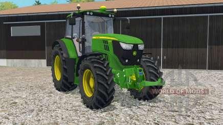 John Deere 6150M full lighting for Farming Simulator 2015