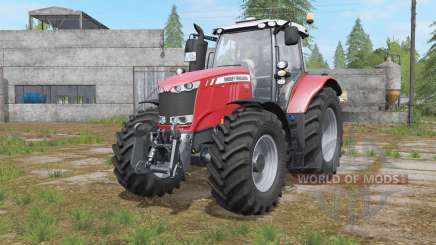 Massey Ferguson 7700 interactive control for Farming Simulator 2017