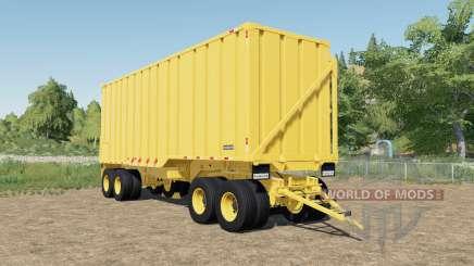 Randon sugarcane trailer dump faster for Farming Simulator 2017