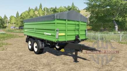 Farmtech TDK 1600 choice color for Farming Simulator 2017
