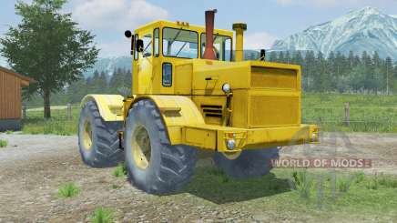 Kirovets K-701 open the doors and the hood for Farming Simulator 2013