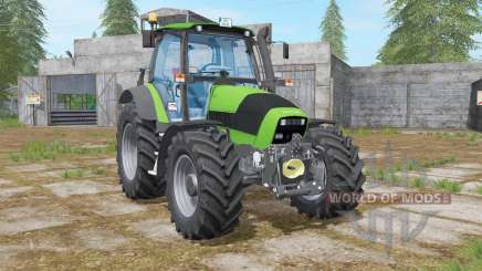 Deutz-Fahr Agrotron 165 lime green for Farming Simulator 2017