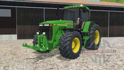 John Deere 8110 pantone green for Farming Simulator 2015