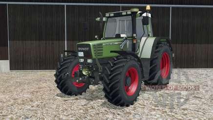 Fendt Favorit 515C Turbomatik with FL console for Farming Simulator 2015