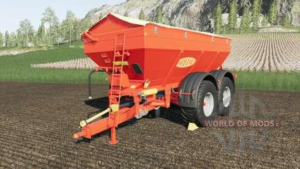 Bredal K165 crazy spreader for Farming Simulator 2017