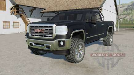 GMC Sierra 2500 HD All Terrain Crew Cab 2015 for Farming Simulator 2017