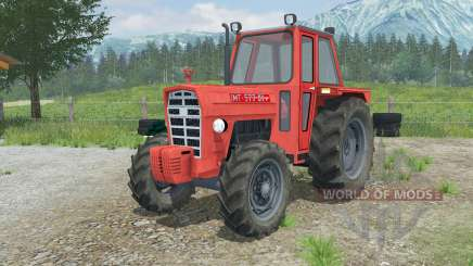 IMT 577 DV red orange for Farming Simulator 2013