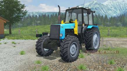 MTZ-1221 Belarus tractor with a loader for Farming Simulator 2013