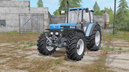New Holland 8340 rich electric blue for Farming Simulator 2017
