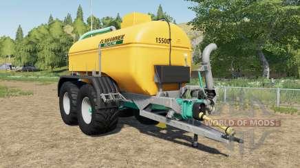 Zunhammer SKE 15.5 PU mudguards choice for Farming Simulator 2017