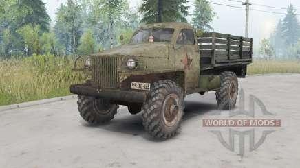 GAZ-63 1943 for Spin Tires