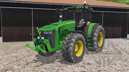 John Deere 8370R full lighting for Farming Simulator 2015