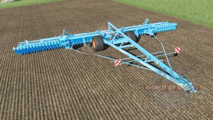 Lemken Gigant 12S-1600 Heliodor 9 plow for Farming Simulator 2017