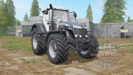 Massey Ferguson 8700 Black Beauty Edition for Farming Simulator 2017