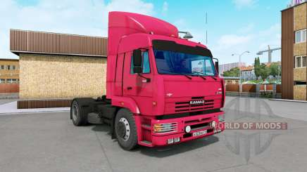 KamAZ-5460 bright red for Euro Truck Simulator 2