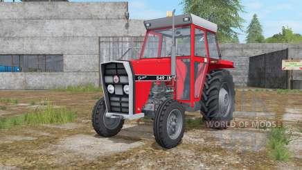 IMT 549 DeLuxe light brilliant red for Farming Simulator 2017