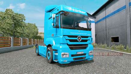 Mercedes-Benz Axor 1843 MegaSpace for Euro Truck Simulator 2